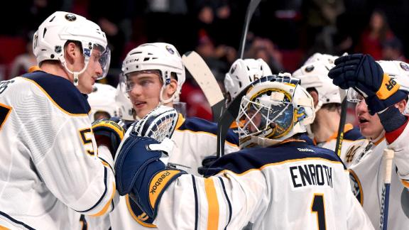 Video - Sabres End 14-Game Losing Streak