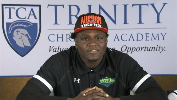 No. 4 OLB Jeffery Holland Picks Auburn