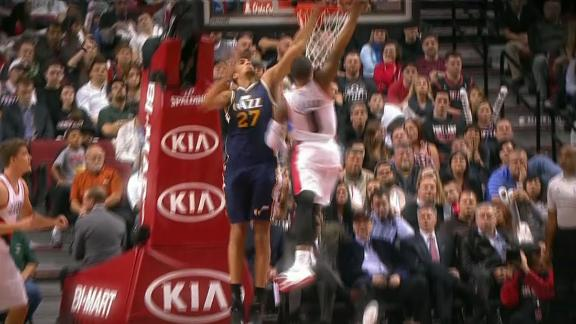 Video - Lillard Puts Gobert On A Poster