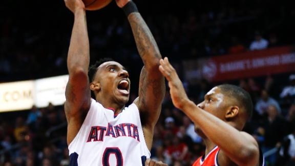 Hawks Rebound With Victory Over Wizards