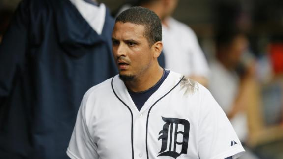 Video - Another Knee Injury For Victor Martinez