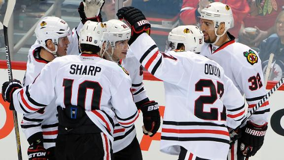 Video - Blackhawks Win In OT