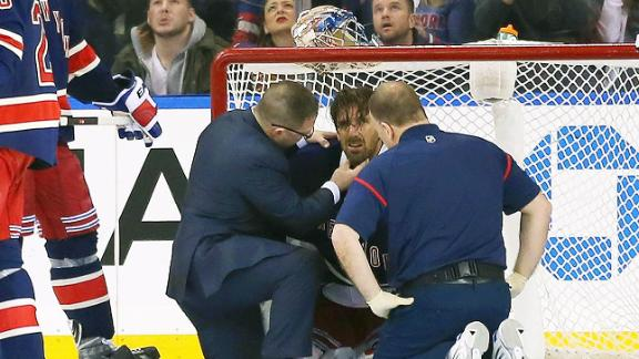 Lundqvist Out At Least Three Weeks
