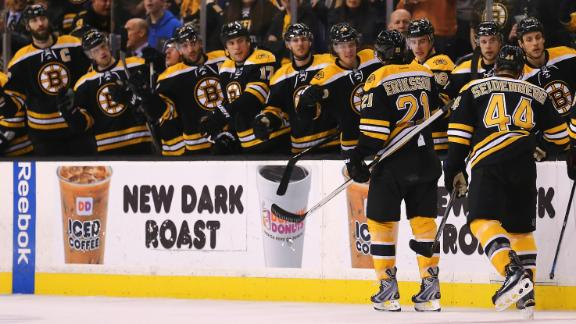 Video - Eriksson Gets Go-Ahead Goal For Bruins
