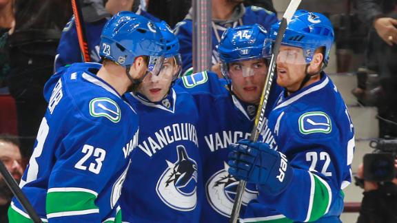 Video - Canucks Blank Penguins