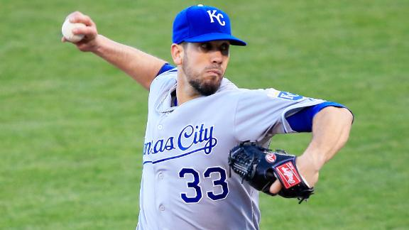 Video - Padres Land James Shields