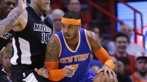 Knicks Fall To Heat