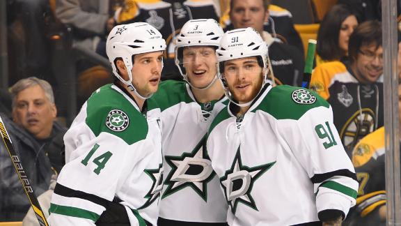 Video - Benn, Stars Snap Slide