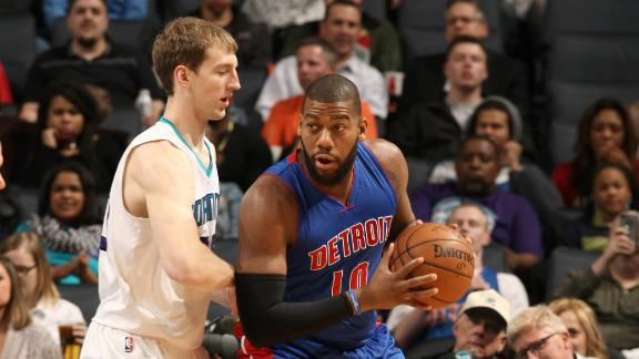 Video - Pistons Take Down Hornets