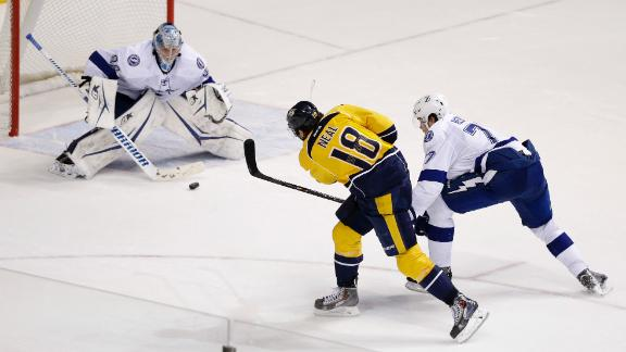 Video - Neal's OT Goal Lifts Predators