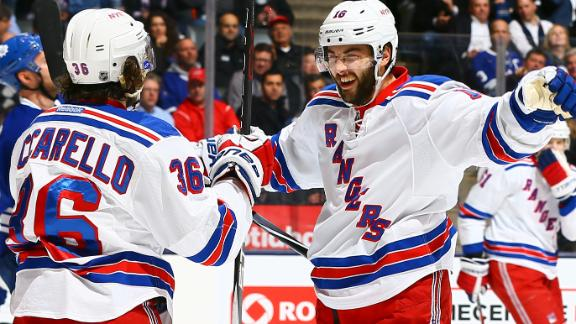 Video - Zuccarello Lifts Rangers Past Maple Leafs
