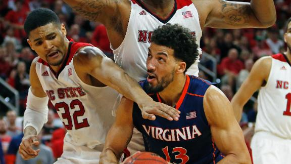 UVa Fends Off NC State