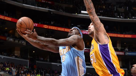 Nuggets Roll Lakers