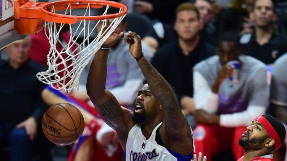 Jordan Lifts Clippers Past Rockets