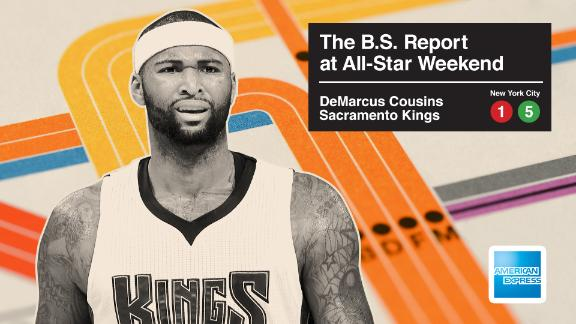 DeMarcus 'Boogie' Cousins And Bill Simmons