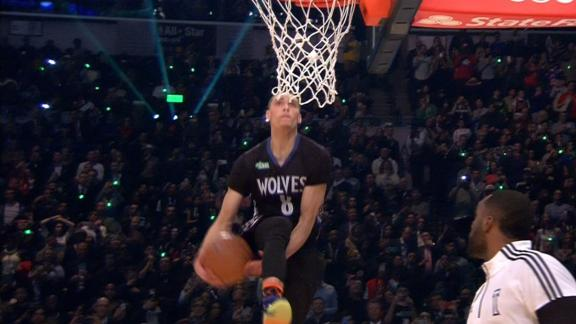 LaVine Crowned Champ After This Slam Dunk