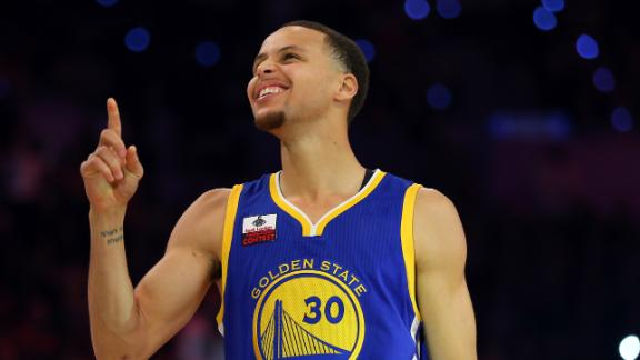 Curry Takes 3-Point Title