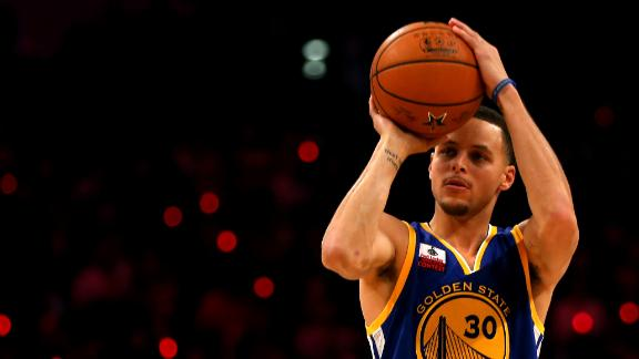 Curry Makes Biggest Splash