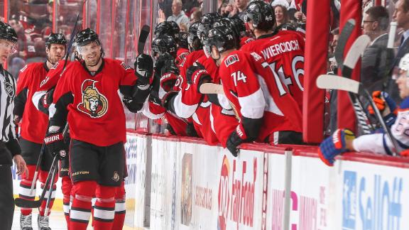 Video - Sens Dominate Oilers