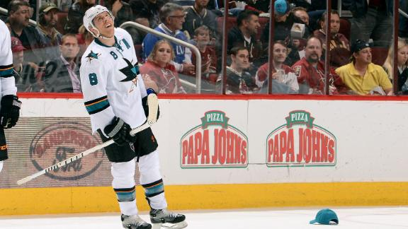 Video - Pavelski Scores Hat Trick In Sharks Win
