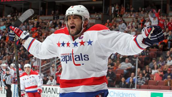 Video - Ovechkin's Big Game Carries Capitals