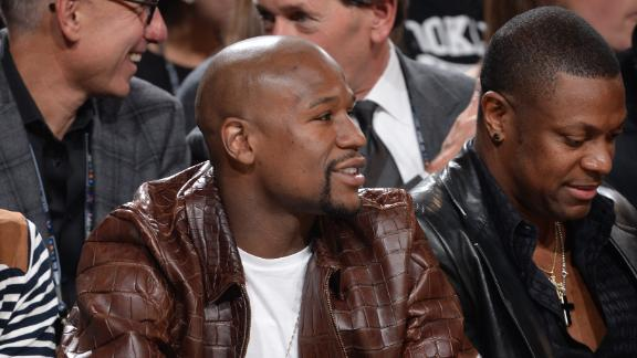 Mayweather: 'Hopefully We Can Make The Fight Happen'