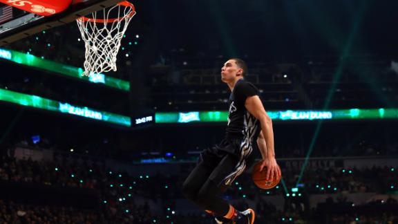 LaVine Says He'd Top LeBron In Dunk-Off