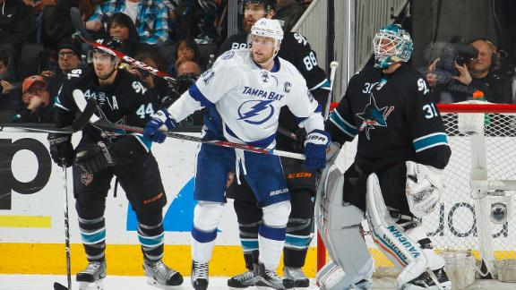Video - Lightning Beat Struggling Sharks