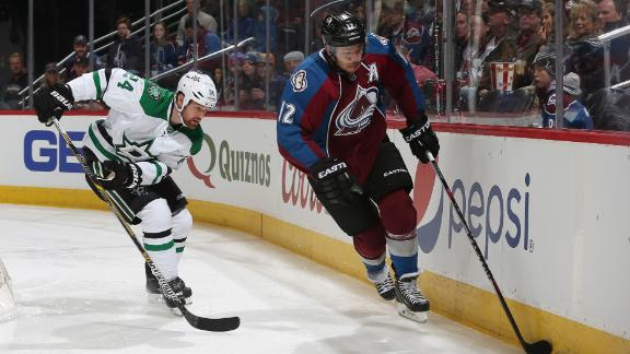 Video - Short-handed Stars Fall To Avs