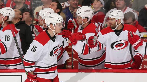 Video - Hurricanes Cruise Past Senators