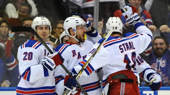 Video - Rangers Rally Past Islanders