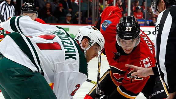 Video - Playoff Hopefuls Square Off In Calgary