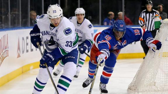 Video - Canucks Beat Vigneault, Rangers In Shootout