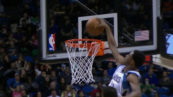 Video - Wiggins Face-Palmed And Still Drops A Slam