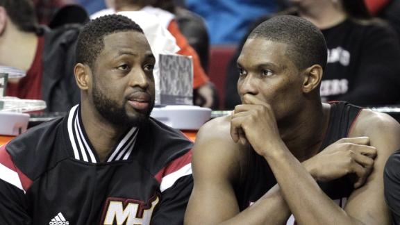 Wade On Bosh Possibly Being Out For Season