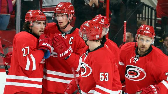 Video - Staal Brothers Lead Hurricanes To Win
