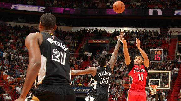 Video - Pelicans Lose Two, Top Heat