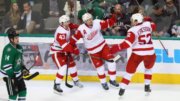Video - Red Wings Win Wild Game Over Stars