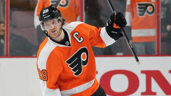 Video - Flyers Snap Caps' Four-Game Win Streak
