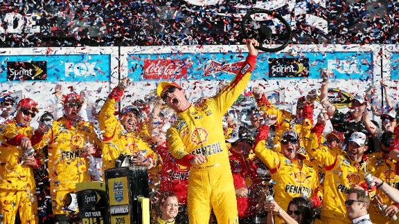 Logano Wins Great American Race