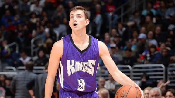 Video - John Stockton's Son Records First Assist