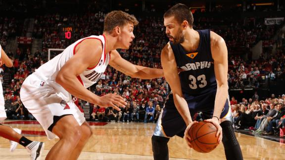 Video - Grizzlies Rally Past Trail Blazers