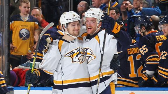 Video - Predators Edge Sabres For Shootout Victory