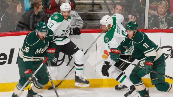 Video - Wild Explode For Six Goals In Third Period