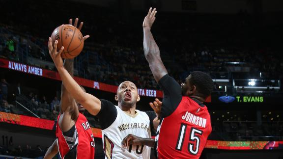 Video - Pelicans Stun Raptors