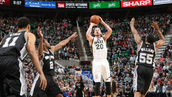 Video - Jazz Edge Spurs