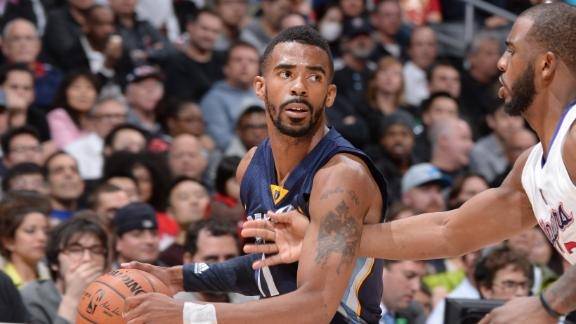 Video - Conley's Steal Seals Griz's Win Over Clips