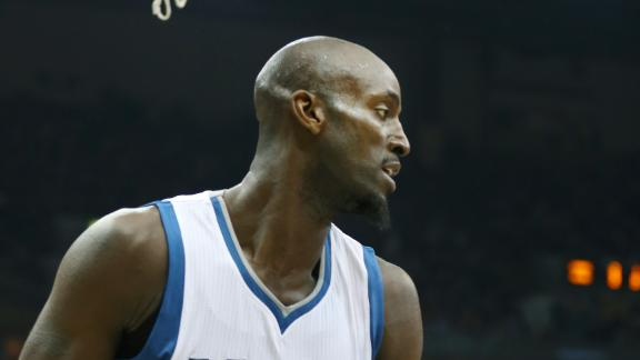 Video - Garnett Returns To Minnesota