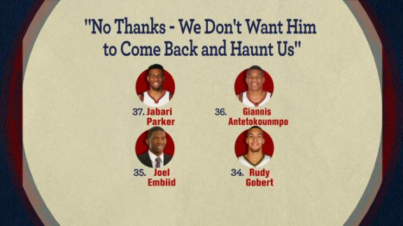 Video - 'No Thanks -- We Don't Want Him to Come Back and Haunt Us'
