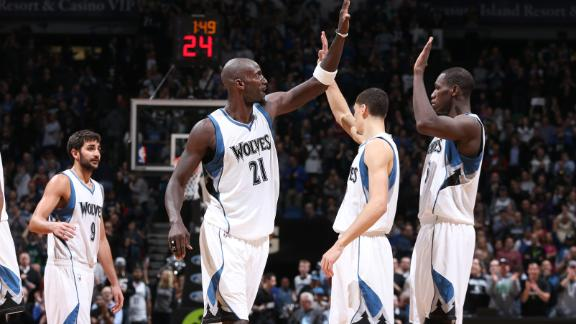Video - Wolves Roll In KG's Return